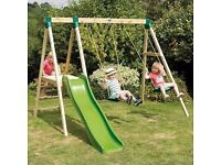 TP Swing Set and Slide Used