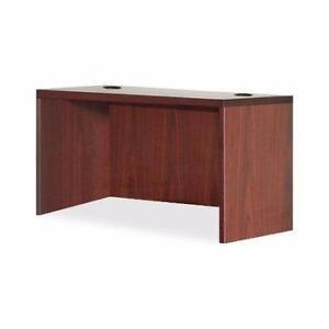 New, Lorell LLR69902 Pedestal Desk Shell, Mahogany *PickupOnly D10