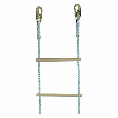 Gemtor 322-20s Laddernylon Rope5155 Hooks20ft.