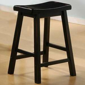Counter height saddle stools, Black or light Brown $59 each