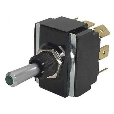 CARLING TECHNOLOGIES LT2561-603-012 Toggle Switch, DPDT, 10A @ 250V, Quick