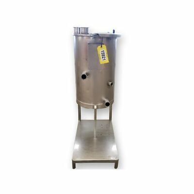 Used 30 Gallon Stainless Steel Sanitary Mix Tank