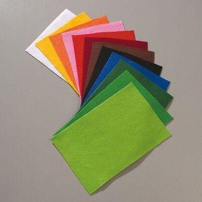 EFCO 12 Platten Bastelfilz Filzplatten Filz ca. 20x30cm 1mm verschiedene Farben