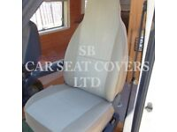 motorhome seat covers for Bailey (Peugeot Boxer cab)