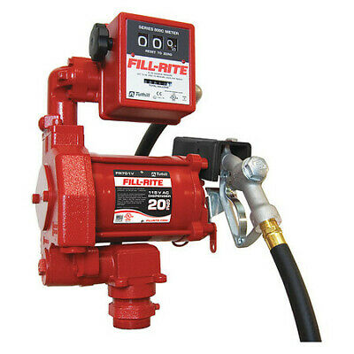 Fill-rite Fr701v Fuel Transfer Pump 115vac 20 Gpm 13 Hp Cast Iron