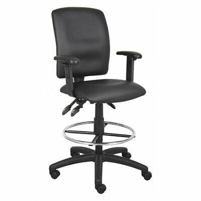 Zoro Select 452r14 Drafting Chairadj. Armsleather Seat