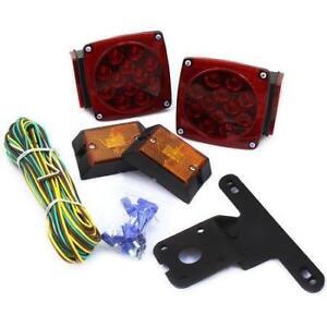 NEW 12V LED TRAILER LIGHTING KIT WATERPROOF WP12VTR BOAT LED STOP TRAILER LIGHTS