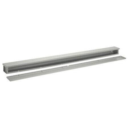 Nvent Hoffman 38380 Wiring Trough, Nema Type 3r, 8.00x8.00x24.00, Steel