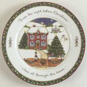 wanted: Xmas dinner set-Twas The Night Before Christmas Cambridge Kitchener Area image 4