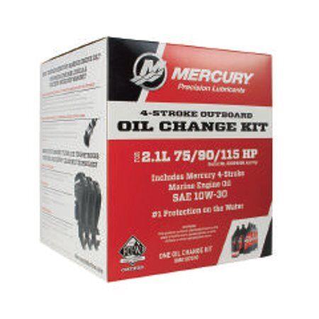 Mercury 4-Stroke Oil Change Kit 2.1L 75/90/115HP 8M0107510