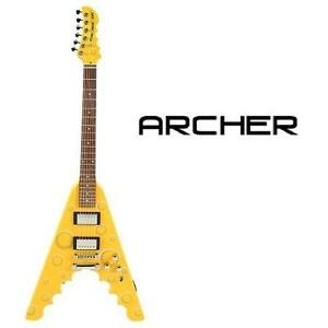 NEW* ARCHER CHEESE WEDGE GUITAR FLYING CHEESE WEDGE ELECTRIC GUITAR - MUSIC INSTRUMENT STRINGS GUITARS 99523863