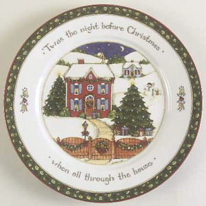 WANTED: XMAS DINNERWARE SET