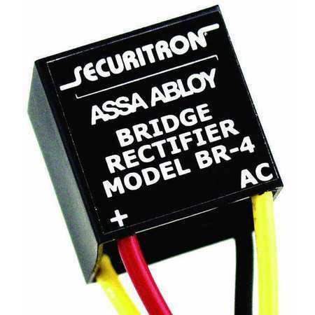 Securitron Br-4 Bridge Rectifier,Plastic,Unfinished