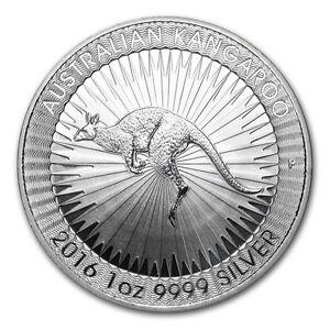 1 oz Pièce Argent Pur Australie Kangourou Fine Silver Coin 999