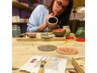 4 week course pottery/ceramics workshops for beginners