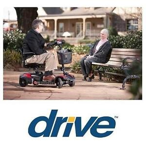 NEW DRIVE MEDICAL 4 WHEEL SCOOTER - 123886111 - SCOUT - COMPACT TRAVEL - POWER SCOOTER MOBILITY DEVICE