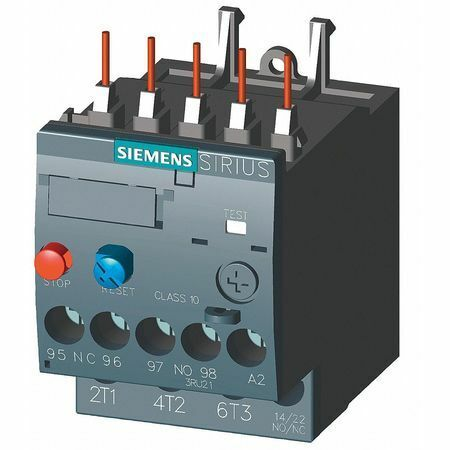 Siemens 3Ru21161kb0 Ovrload Rely,9 To 12.5A,3P,Class 10,690V