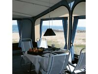 Pacific ventura 300cm awning 1000cm with lots of extras ideal for permanent pitch steel poles