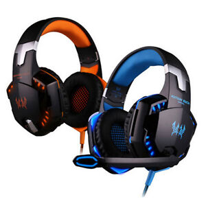 KOTION G2000 Stereo Gaming Headphone with microphone Led For Com