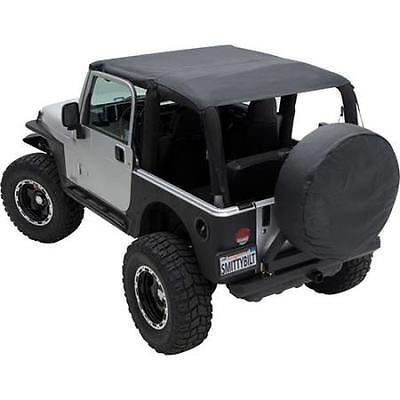 Jeep Wrangler TJ Extended Top 1997-2006 Black Denim Smittybilt 93615