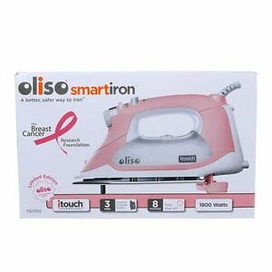 OLISO IRON --NEW PINK-- Limited EditionTAXES INCLUDED BRAND NEW