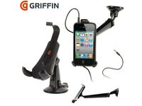 Griffin GC22063 WindowSeat / Drive Safe Mobile Car Kit - Black