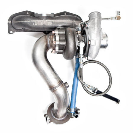 Garrett Scion Tc Stage 3 Turbo Kit 450hp Gt3071r-wg Hardware,actuated