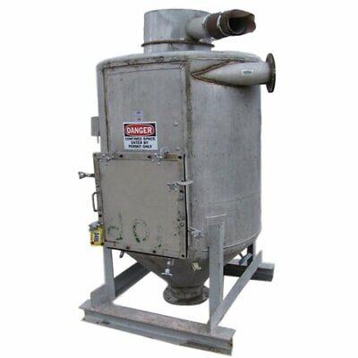 44 Dia. Stainless Steel Cyclone Packaging Bin