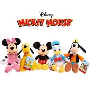 NEW DISNEY BEAN BAG PLUSH 14910 187070414 Mickey Mouse Clubhouse Characters 5-PACK