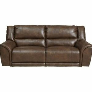 Leather Power Reclining Sofa/Couch and 2x Power Reclining Chairs Kitchener / Waterloo Kitchener Area image 1