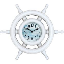 Better Homes and Gardens Captains Wheel Clock W