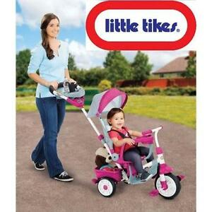 NEW LITTLE TIKES 4-IN-1 TRIKE PERFECT FIT TRICYCLE - PINK 109529763
