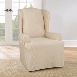 2x Slipcovers - Wing Chair - by SureFit
