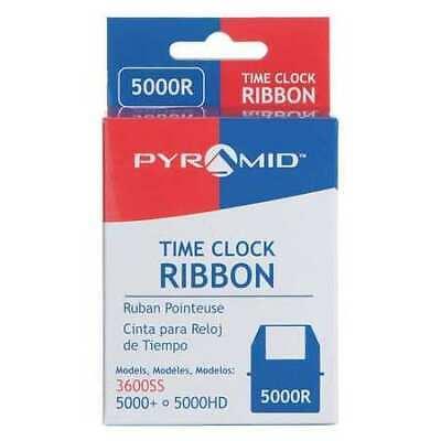Pyramid 5000r Time Clock Replacement Ribbonblack