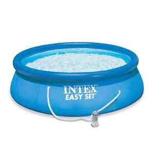 Intex easy set 15 x 48in pool with ladder - $250 OBO