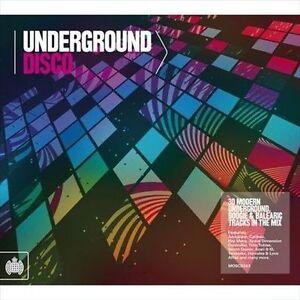 VARIOUS-UNDERGROUND DISCO-CD (2) MINISTRY OF SOUND UK NEW