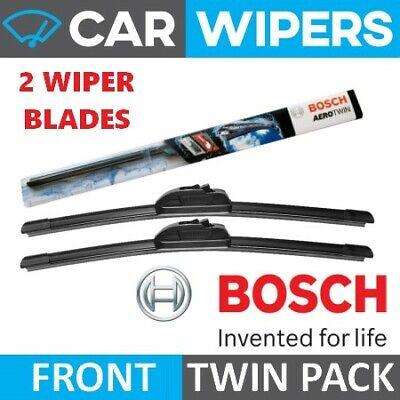 Peugeot 206 Hatch 2001 - 2006 BOSCH Aerotwin Retrofit Windscreen Wiper Blades