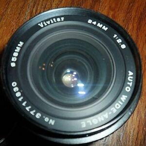 Vivitar 24mm f2.8 + adapter for A7 >>>>>More wide angle lens