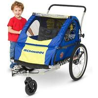 Schwinn Two-Seat Bike Trailer / Stroller