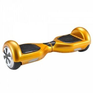 BRAND NEW GOLD BLUETOOTH HOVERBOARD