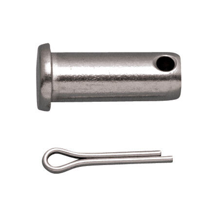 """STAINLESS CLEVIS PIN .41"""" GRIP 3/16"""" 316 SS"""
