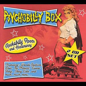 Psychobilly-Box-Rockabilly-Roots-amp-Hoots-CD-Nov-2007-2-Discs-Cleopatra