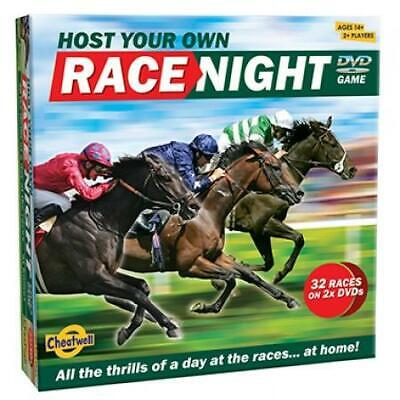 Cheatwell Games Host Your Own Horse RACE NIGHT DVD Game