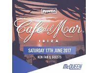 Cafe Del Mar Ibiza - London Launch Party