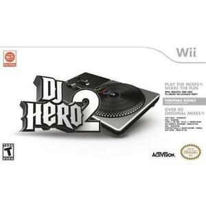 Activision - DJ Hero 2 Turntable Bundle for Nintendo Wii