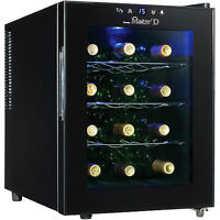 Wine Cooler sunbeam 12-Bottle Thermoelectricnew inbox-$89.99