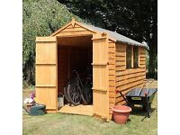 8x6 new shed delivered