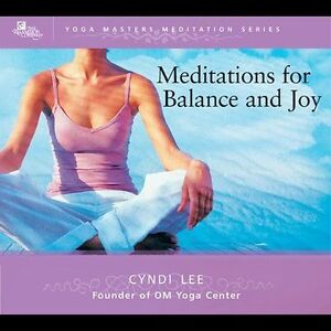 Meditations for Balance and Joy (1 CD) CD by Lee Cyndi