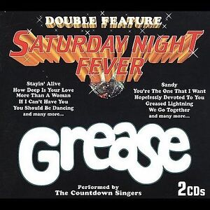 Double Feature: Saturday Night Fever/Grease by The Countdown Singers (CD, 1997,
