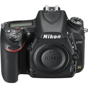 NIKON D750 FX-Series Digital Body 24.3MP SLR Camera (Black)